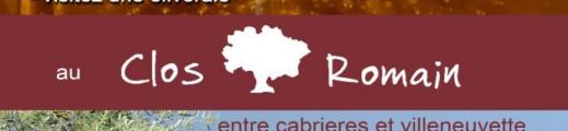 Dimanche 12 août, soirée de l'olive au Clos Romain !